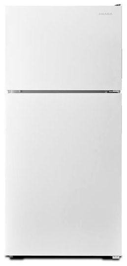 "29-3/4"" x 31-3/8"" x 65-7/8"", 18 Cu Ft, 115 VAC, White, Swing, Top Mount, Refrigerator"