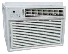208/230 V, 22/20 A, 18000 BTU/HR, NEMA 6-30P Power Cord, 4-Way 3-Cooling/3-Heating/3-Fan Speed, Window Mount, Air Conditioner