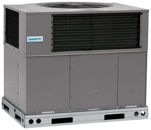 208/230 V, 54.2/62.5 A, 1-Phase, 11.3/15 kW, 36000 BTU/HR, 1-Stage Standard, Enclosure Roof Top/Ground Level, Packaged Heat Pump