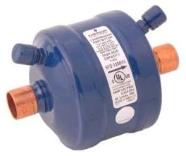 """3.64"""" x 5.25"""", 40 Micron, Epoxy Powder Painted, Air Conditioner Suction Line Filter Drier"""