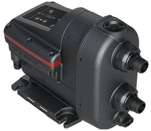 115 VAC at 60 Hz 1-Phase, 550 W, 13.2 GPM, 145 PSI, Noryl, Water Booster Pump