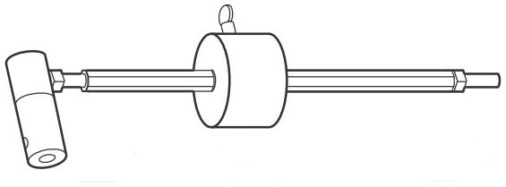 Honeywell 32005981-004 SPRD Counterweight Assembly