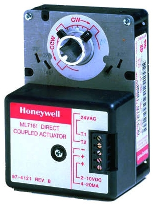 Honeywell ML7161A2008 2-10 Vdc, 4-20 mA Actuator - 35 lb-in