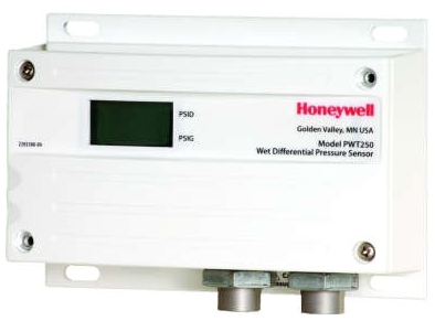 Honeywell PWT100 Wet Differential Pressure Sensor, 0-10, 0-20, 0-50, 0-100 psid Selectable