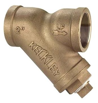 """1/2"""" x 1/2"""", FPT x FPT, 20 Mesh, Lead-Free, Cast Bronze, Import, Y Strainer"""