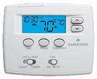 "4.8"" x 1.5"" x 3.8"", 0 to 30 VAC/VDC, Digital Programmable, 2-Heat/1-Cool, Thermostat"