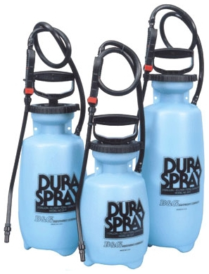 B&G Equipment DuraSpray 1 Gallon All Poly Sprayer