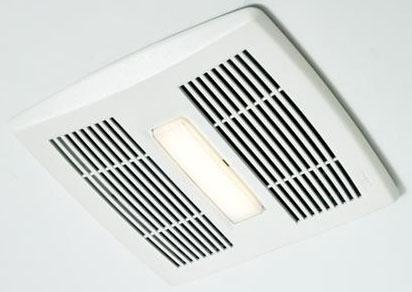 7221650 AE110L BROAN 110CFM FAN 1.3 SONE LED LT
