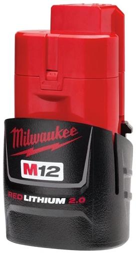 MIL 48-11-2420 M12 RedLithium 2Ah 12v BATTERY