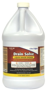 4165-08 DRAIN SOLVE 1 GAL CUSTOMER ASSUMES RESPONSIBILITY FOR THE PROPER USE OF THIS PRODUCT