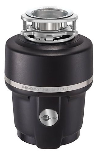 PRO750 ISE 3/4HP EVOLUTION PRO COMPACT CONT FEED DISPOSER (REPL PROCOM)