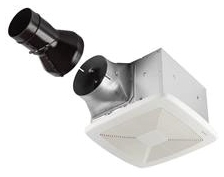 "BROAN RB110 110CFM UltraPRO BATH EXHAUST FAN 0.6 SONES 4"" DUCT SIZE ENERGY STAR RATED SUITABLE FOR CONTINUOUS USE"