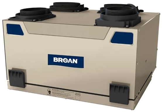 DA32075 41552/HRV120T VENMAR/BROAN HRV TOP PORT