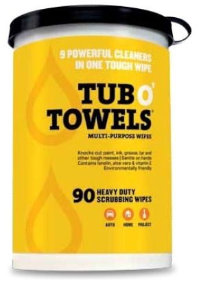 TW90 TUB O' TOWELS (90 WIPES) FED PROCESS