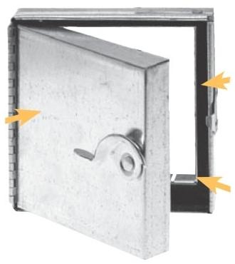5850010 TBSM 10 X 10 CAM/CAM ACCESS DOOR 8387