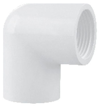 5926267 PVC 90 DEG ELBOW 3/4in FPT X SWT