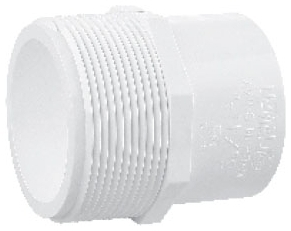 5926280 PVC 3/4in MPT X 1/2in SLIP ADAPTER