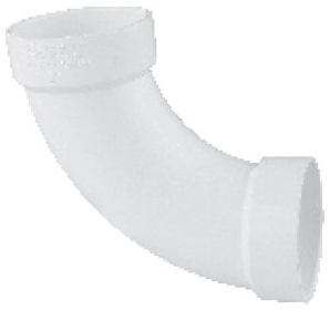 5926306 PVC 3in ID LONG SWEEP 90DEG ELBOW