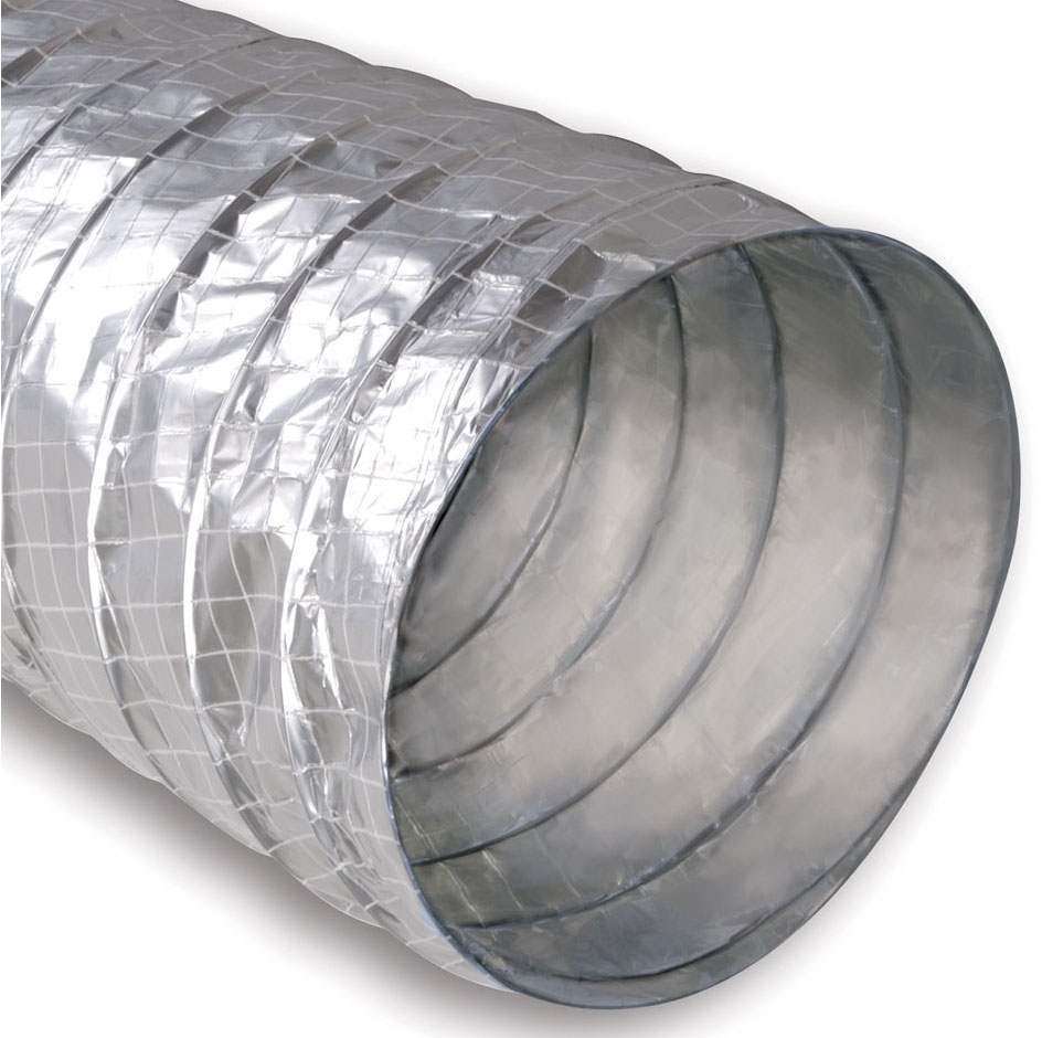 8354101 3in SLD SILVER FLEX TUBING 25ft