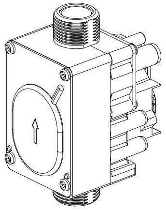 CCRKIT60 CCRKIT60 GAS VALVE ASSY FOR CC125H