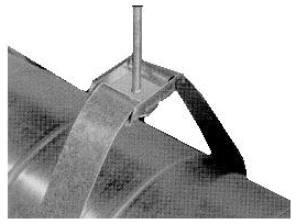 5011098 LSBGA ROUND DUCT STRAP BRACKET