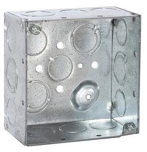 RACO 232 4SQ 2-1/8D BOX COMB KO