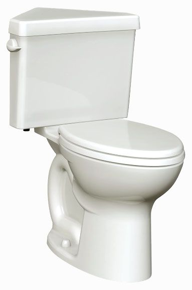 "16-1/2"", 1.28 GPF, Rear Outlet, White, Vitreous China, Floor Mount, Elongated, Toilet Bowl"