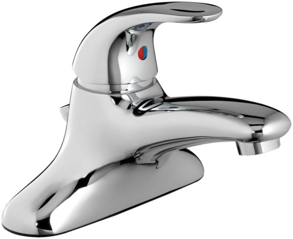 "6-7/8"" L x 4-7/8"" H x 3-3/4"" Clearance x 5-3/8"" Reach, 0.5 GPM, Polished Chrome, Battery Powered, Proximity, Electronic Faucet"