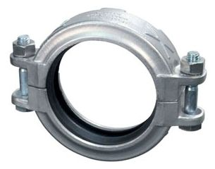 """2-1/2"""" x 2-1/2"""", Grooved x Grooved, 316 Stainless Steel, Rigid, Straight Coupling"""