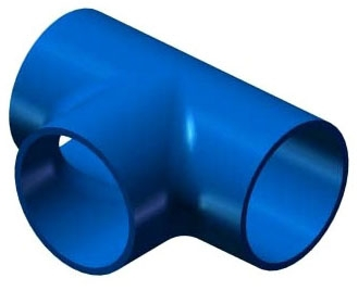 5956010 10in BLUE TEE