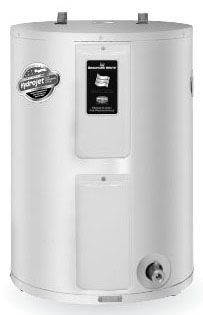 19 Gallon Electric Water Heater, 208/240 V, 1-Phase, 4500 W, Lowboy, Residential
