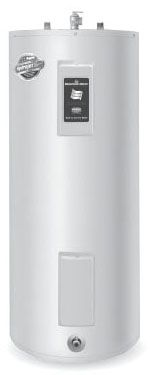 40 Gallon, 208/240 V, 1-Phase, 4500 W, 2-Element, Upright, Residential Electric Water Heater