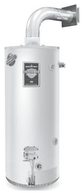 50 Gallon Gas Water Heater, 42000 BTU/HR, Direct Vent, Natural Gas, Residential, With Flexible Vent
