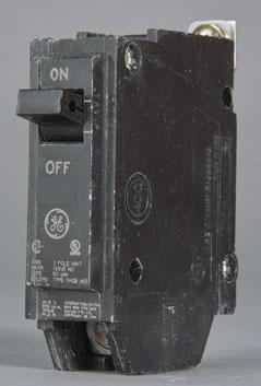 GE THQB1120 1P 20A 120V BOLT-ON CB