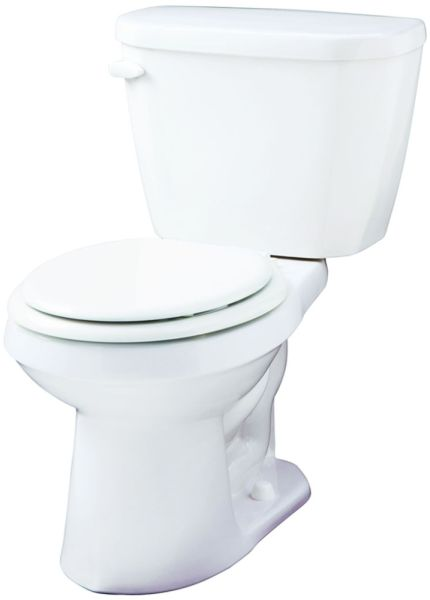 "18-1/4"" x 7-1/8"", 1.6 GPF, White, Vitreous China, Toilet Tank"