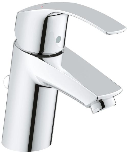 "2-3/8"" Clearance x 4-1/16"" Reach, Chrome Plated, Single Handle, Centerset, Bathroom Sink Faucet"