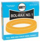 Wax Gasket with 2-BPS Bolt - Harvey / Bol-Wax1 / No-Seep