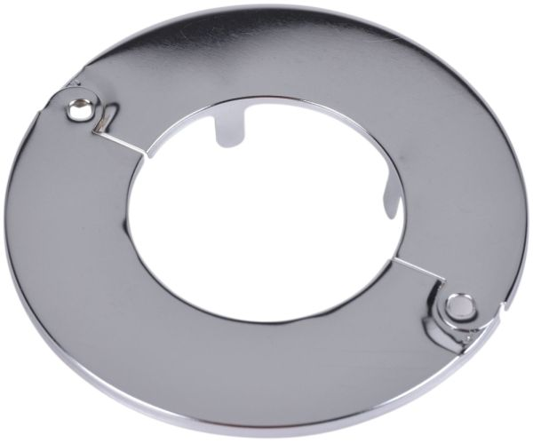 "3"" IPS, Chrome Plated Steel, Hinged, Heavy, Floor and Ceiling Plate"