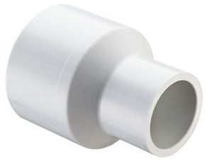"2"" x 3/4"", Socket x Socket, White, Injection Molded PVC, Reducing Coupling"
