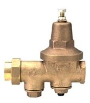 "1-1/2"", FPT Union x FPT Union, Cast Bronze, 300 PSI, Diaphragm, Single Union Pressure Reducing Valve"