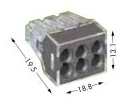 773-166 - Junction Box Wire Connector by WAGO