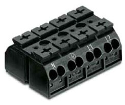 862-0504 - Chassis-Mount Terminal Strip by WAGO