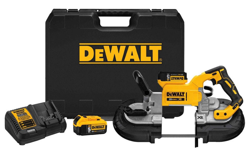 DWT DCS374P2 20V MAX DEEP CUT BAND SAW KIT