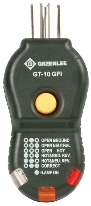 GRE GT-10GFI TESTER,CIRCUIT-GFI (GT