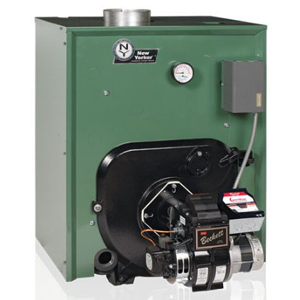 CL3-105-WEN-TL New Yorker Cast Iron Water Boiler Less Burner Less Coil With Hydrostat 105-140 MBH