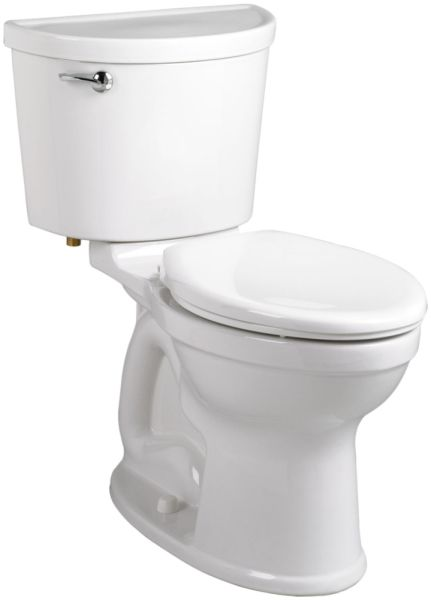 "16-1/2"" H 1.28 GPF White Vitreous China Bottom Outlet Toilet Bowl W/O Seat"