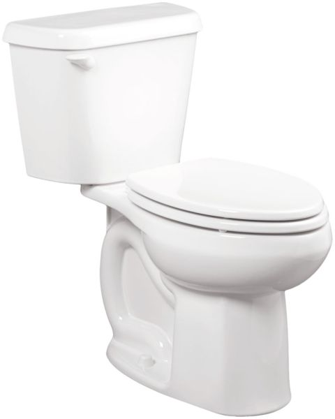 "16-1/2"" H 1.6 GPF White Vitreous China Bottom Outlet Toilet Bowl W/O Seat"