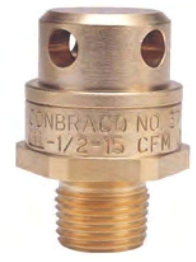 """3/4"""" 16 CFM 200 PSIG Brass Vacuum Relief Valve"""