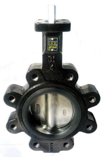 "12"" Lug x Lug Ductile Iron Direct Mount Gear Operated Lug Butterfly Valve"