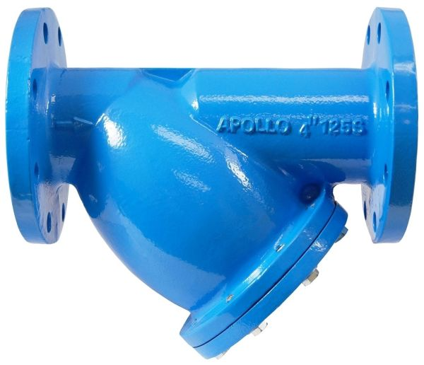 """2-1/2"""" Flanged x Flanged Epoxy Coated Cast Iron Y Strainer"""